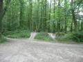 Mohylník - pohled z cesty